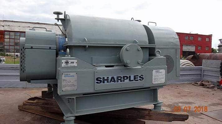 Центрифуга для очистки подсолнечного масла на маслозаводе ООО