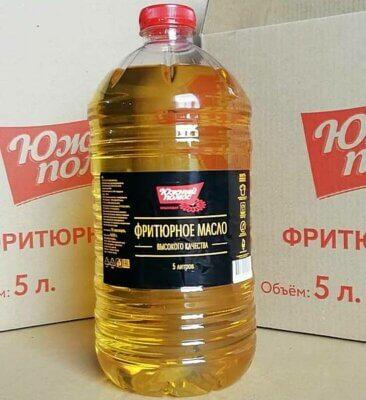 Фритюрное масло фасовка 5 литров